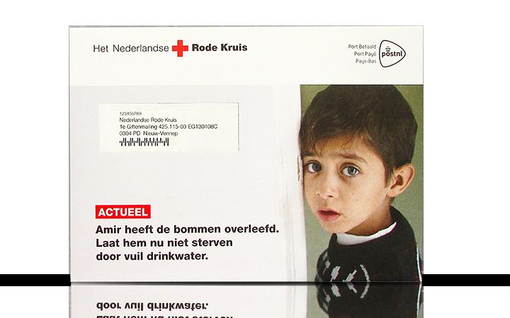 Rode Kruis: de bommen overleefd...