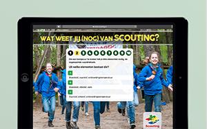 Scouting bouwt aan een huis voor iedereen