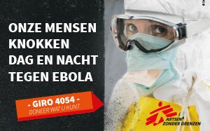 Artsen zonder Grenzen in actie tegen ebola