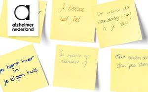 Alzheimer Nederland zorgt dat we niemand vergeten