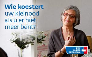 KWF Kankerbestrijding denkt aan later
