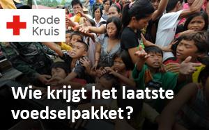 Rode Kruis: wie krijgt het laatste voedselpakket?