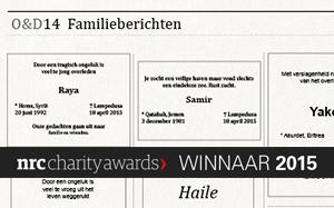 NRC Charity Award 2015