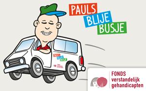 Pauls Blije Busje maakt mensen met een verstandelijke beperking blij