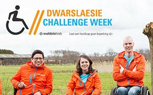 Dwarslaesie Challenge Week een groot succes