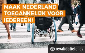 Revalidatiefonds wil een toegankelijk Nederland