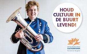 Prins Bernhard Cultuurfonds als motor van cultuur