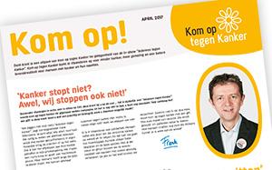 Iedereen in Vlaanderen tegen kanker!