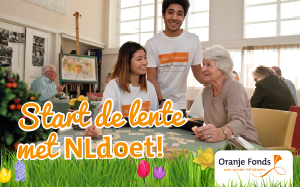 De lente start bij Oranje Fonds