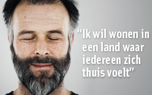 VluchtelingenWerk - verkiezingscampagne 'In wat voor land wil jij wonen?'