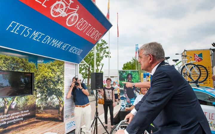 Deze fiets redt levens